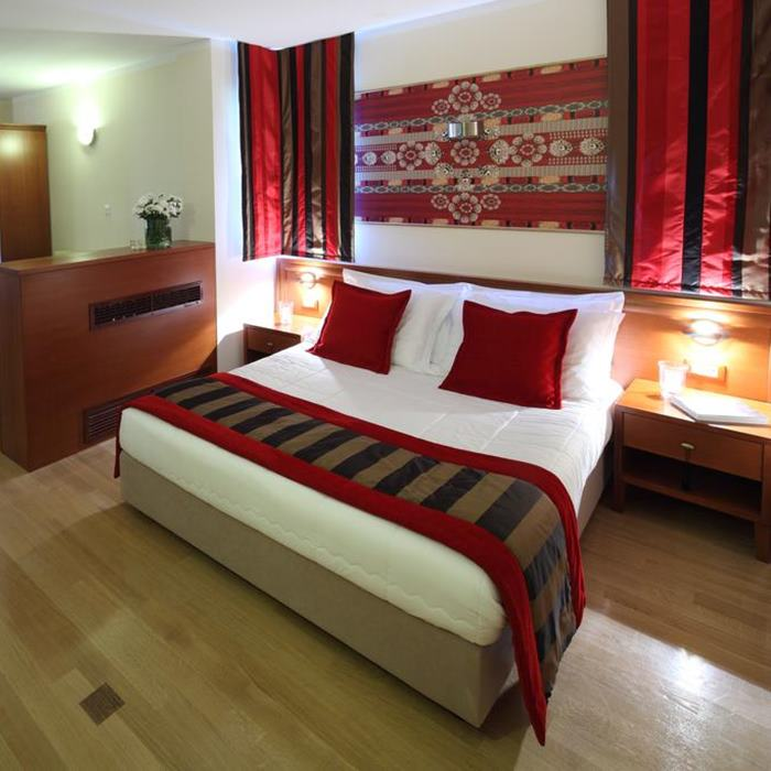 Villa Andrea, Tucepi double bed bedroom
