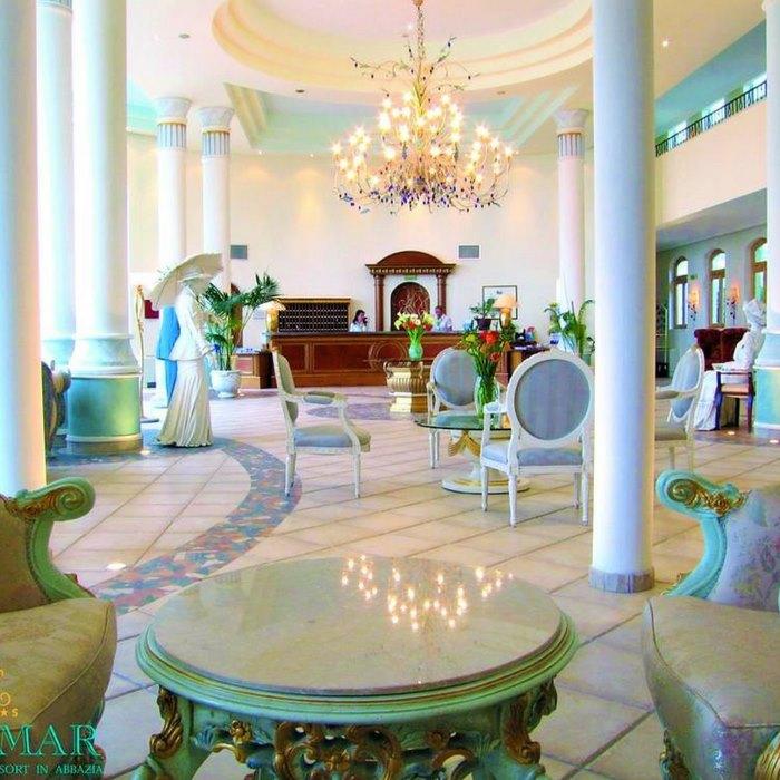 Hotel Miramar hall
