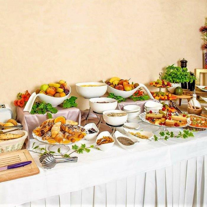 Heritage Hotel Life, Sibenik lunch buffet