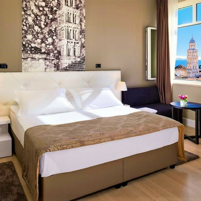 Hotel Cornaro, Split double bed with sv duje