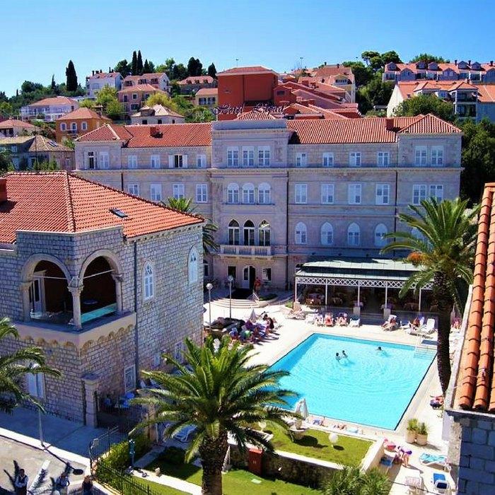 hotel lapad, dubrovnik pool view