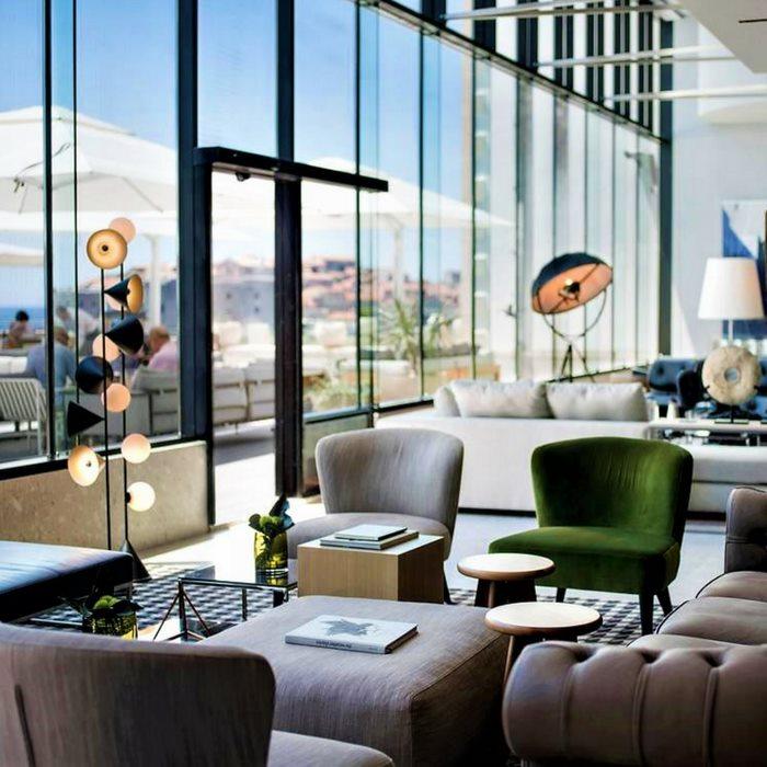 Hotel Excelsior, Dubrovnik indoor reception lounge