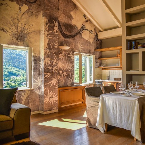 Hotel Draga di Lovrana dining room