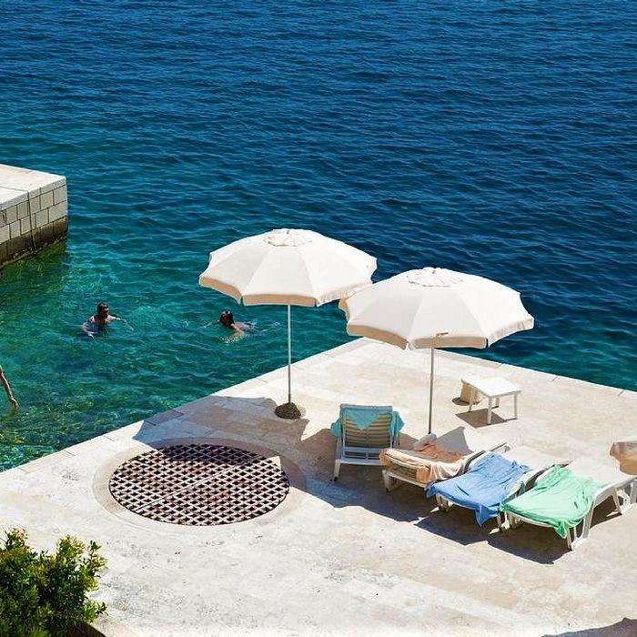 Hotel Bozica, Sipan island lounge doc area near the sea