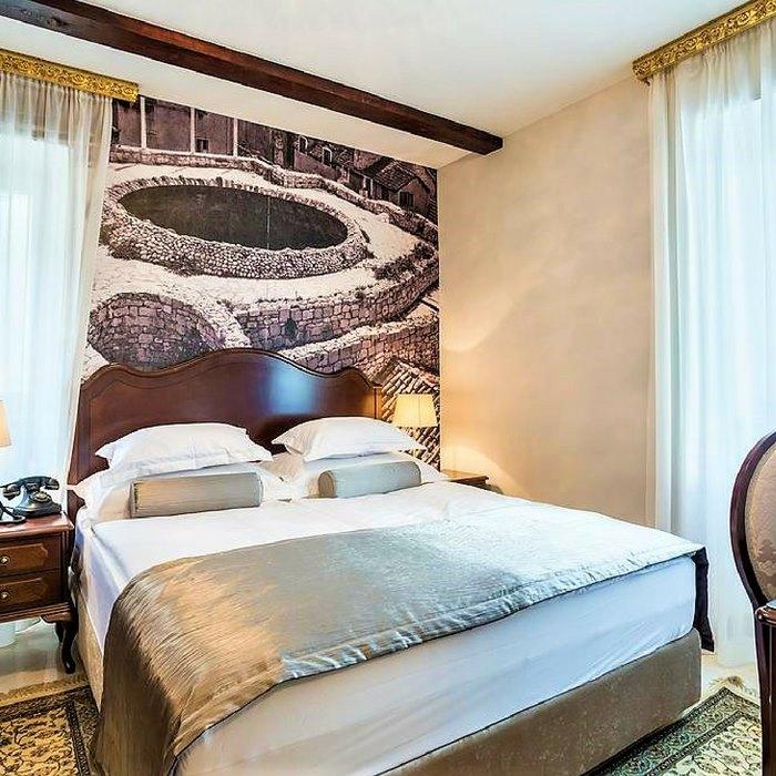 Splendida Palace Hotel, Split double bed cosy bedroom