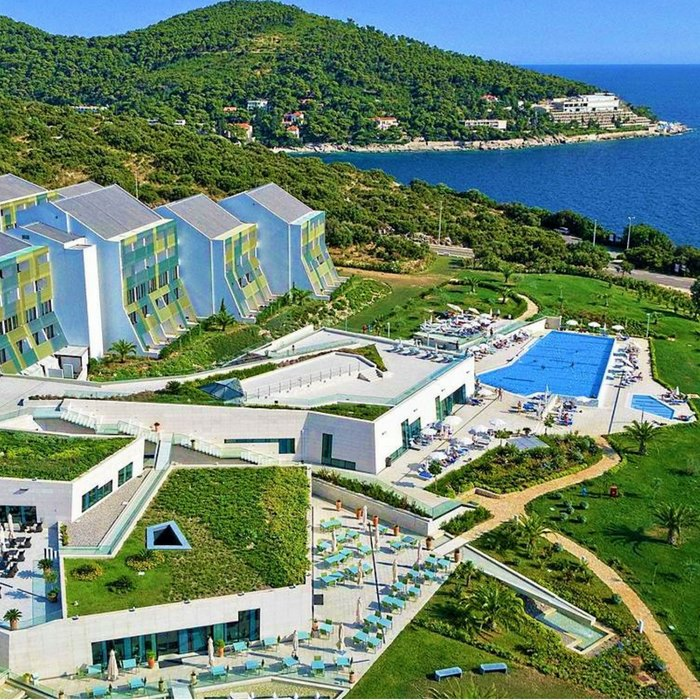 Valmara Lacroma, Dubrovnik full aerial view of hotel