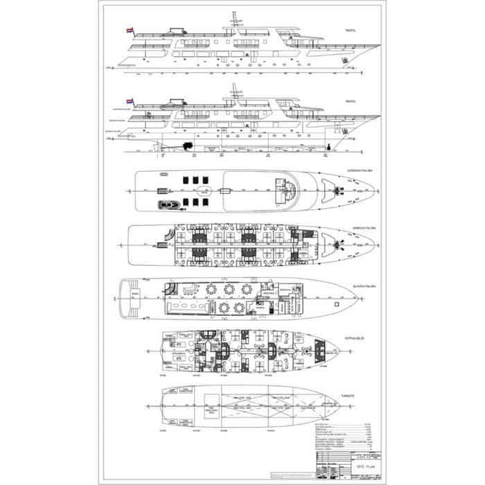 MV Ave Maria deck plan