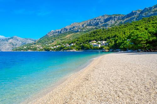 Makarska riviera beach