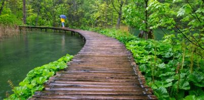Broadwalk in Plitvice