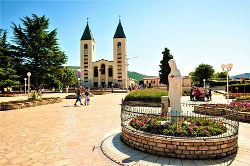 Bosnia main square