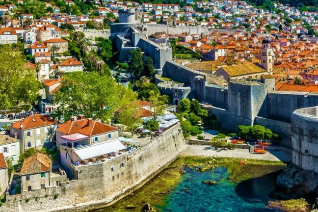 Dubrovnik fortress and old town