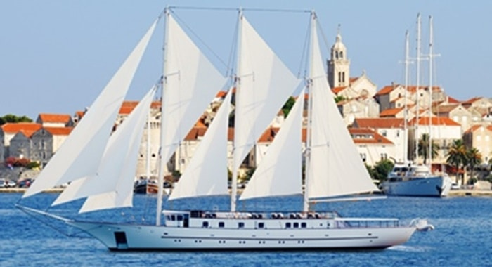 MY Klara Cruise Ship, Croatia