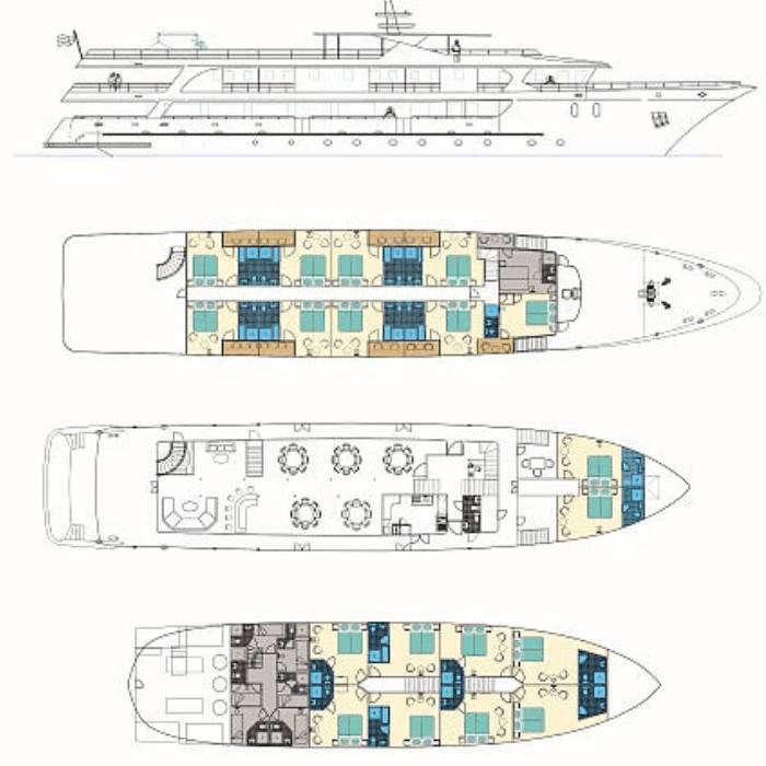 Infinity deck plan