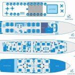 Kleopatra Deck Plan, Cruise Croatia