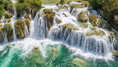 Krka Waterfalls, Croatia, Unforgettable Croatia