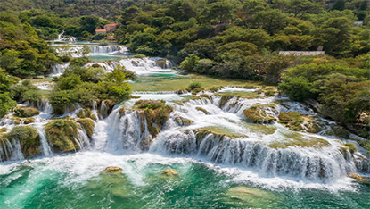 Krka Waterfalls, Croatia