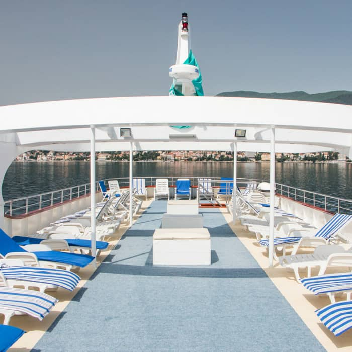 MS Amalia sun deck