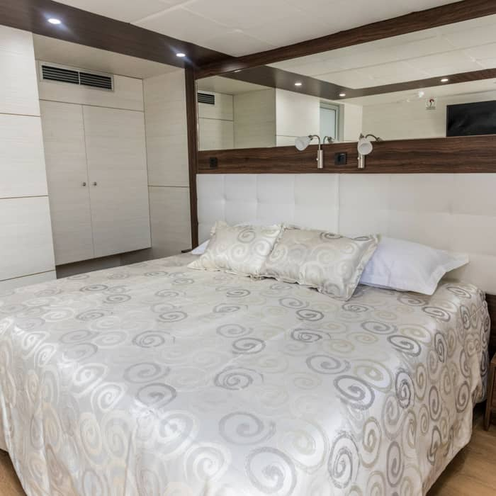 MV Adriatic queen cabin