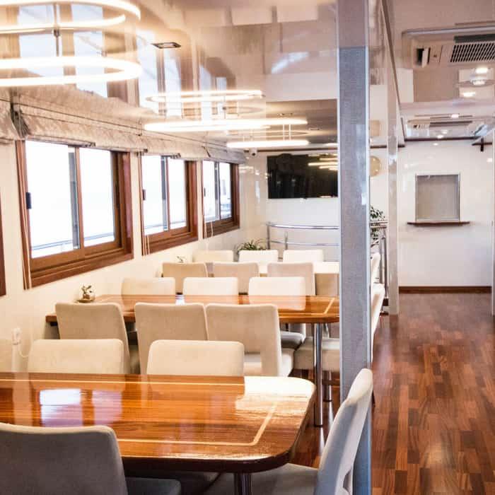 MV Dream dining area