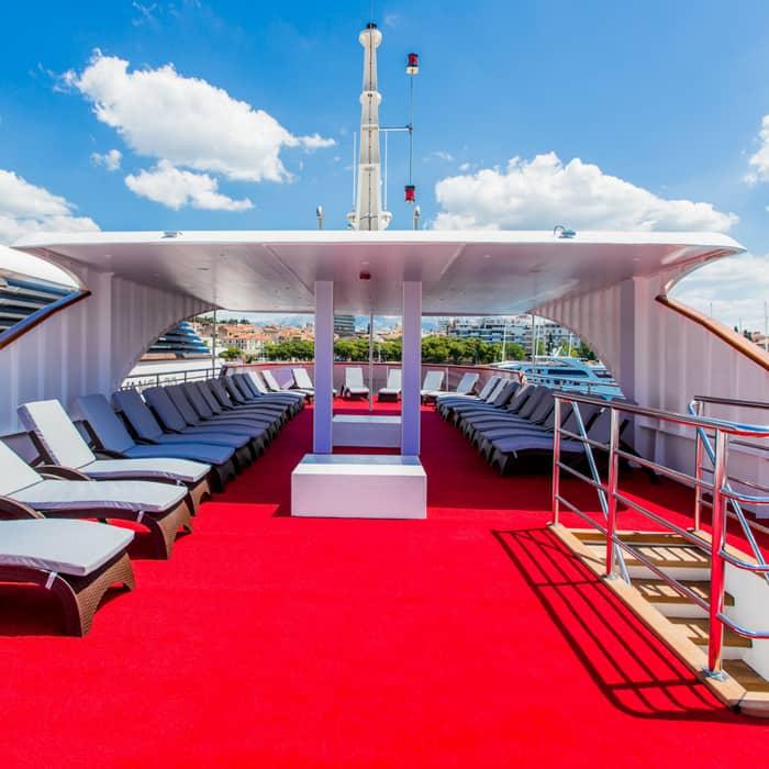 MV Dream top deck