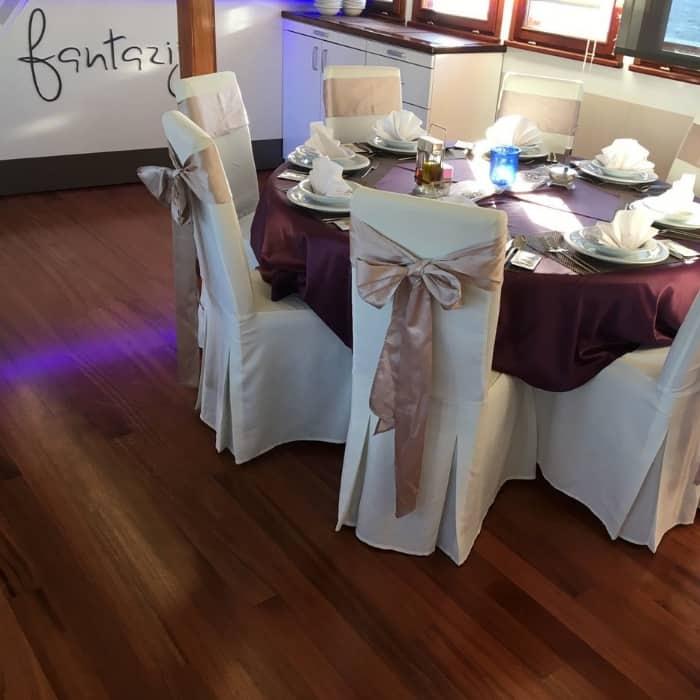 MV fantazija dining area