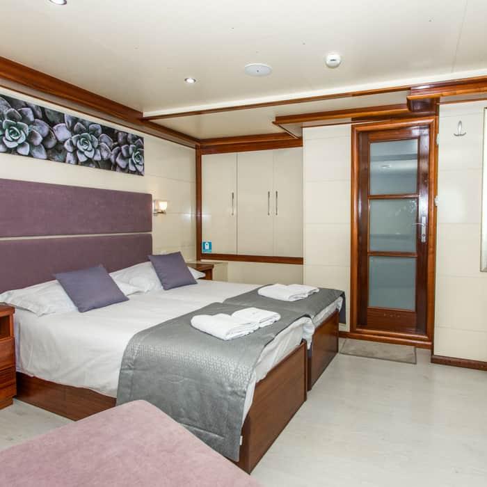 MV Futura cabin