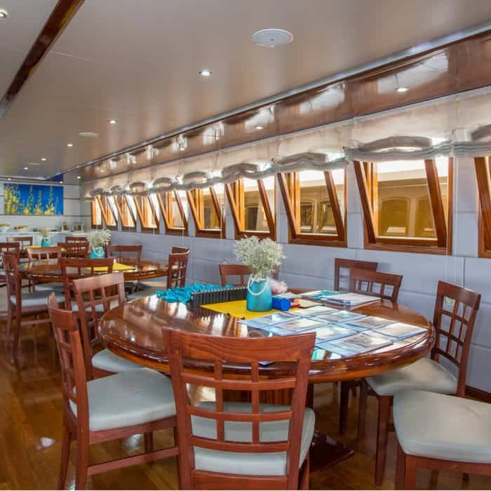 MV Futura dining area