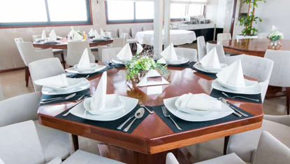 MV Infinity dining room, Unforgettable Croatia