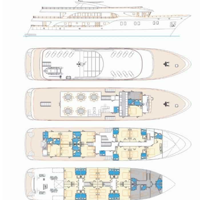 MV Moonlight - Unforgettable Croatia - Small Ship Cruises in