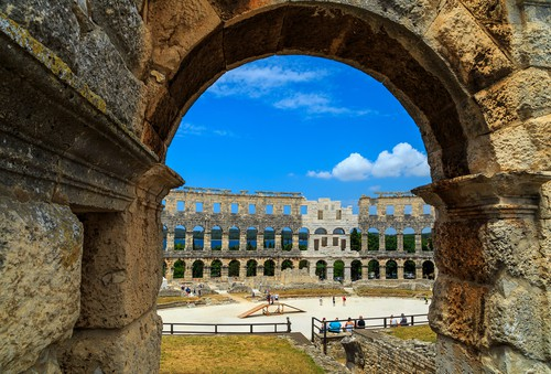 Pula Roman Amphitheater