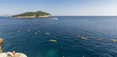 Kayaking at Dubrovnik
