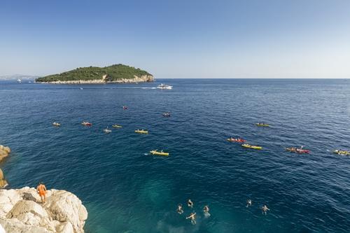 Kayaking at Dubrovnik