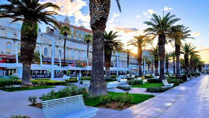 Split promenade, Croatia, Unforgettable Croatia