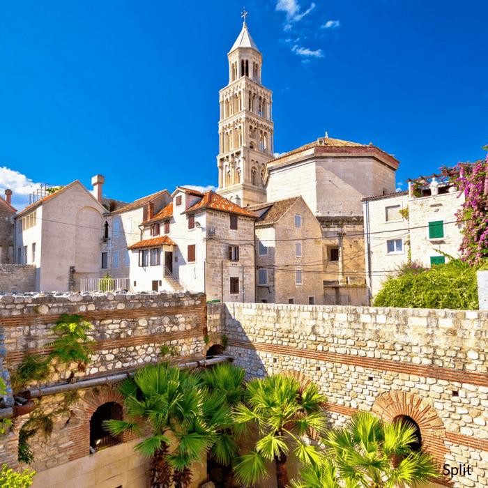 Split tower
