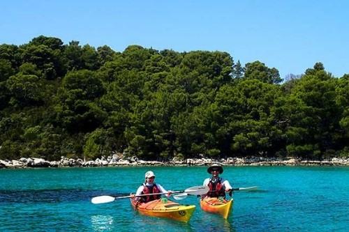 Mljet kayaking