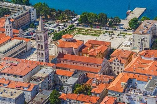 Zadar old city