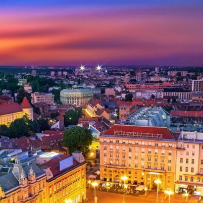 Zagreb Croatia the capital of Croatia