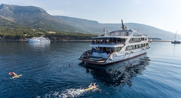 MV Prestige Cruise ship, Croatia