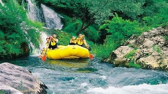 Rafting in Croatia