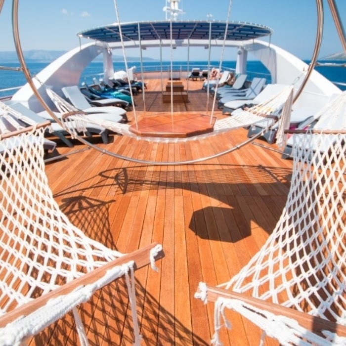 MV Admiral hammock