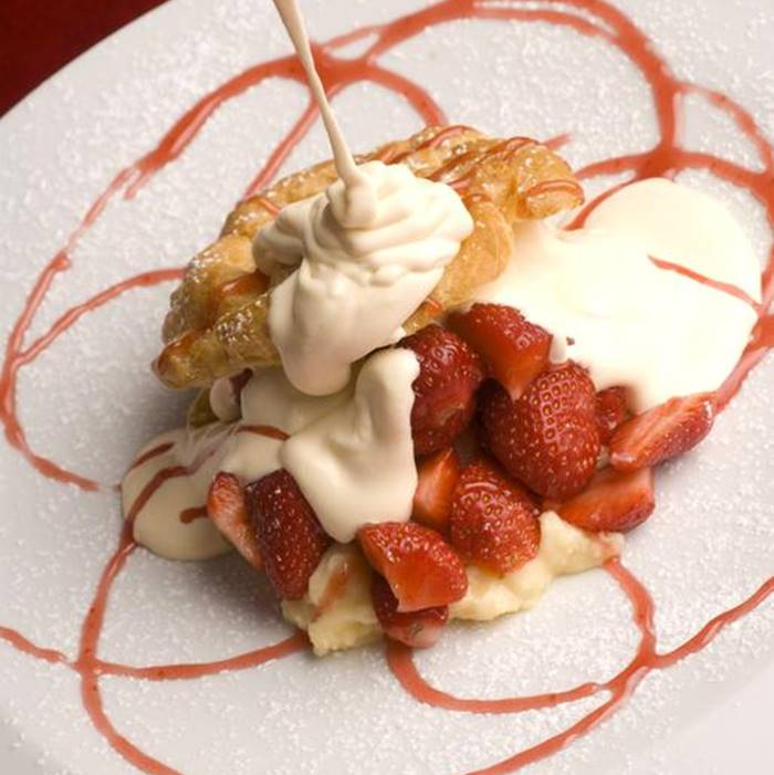 Boutique Hotel Astoria, Kotor hotel desert waffle