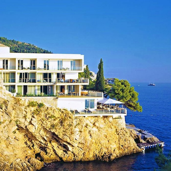 Villa Dubrovnik, Dubrovnik full hotel view
