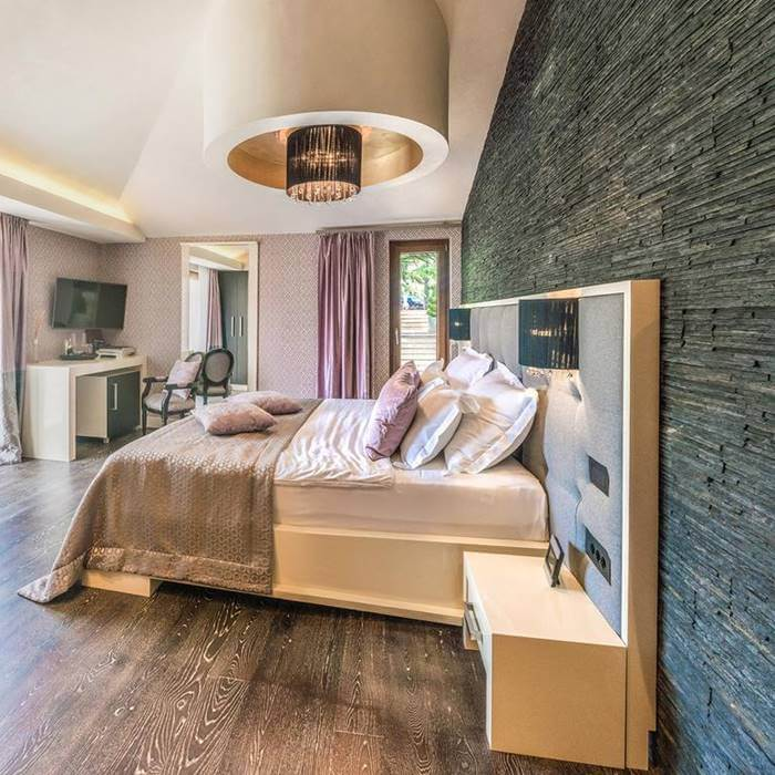 Boutique Hotel Forza Mare, Kotor double bed bedroom