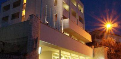 Brekeley Hotel, Dubrovnik full street view of hotel