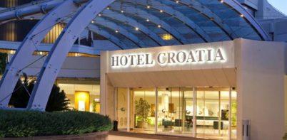 Hotel Croatia Cavtat hotel entrence