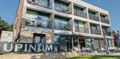 Hotel Arupinum entrance