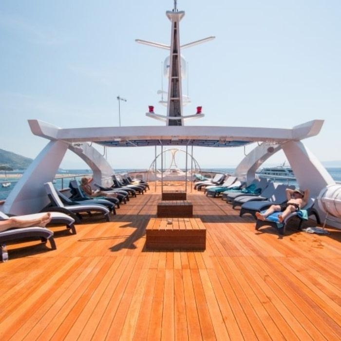 MV Admiral sun deck