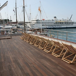 MS Spalato sun deck