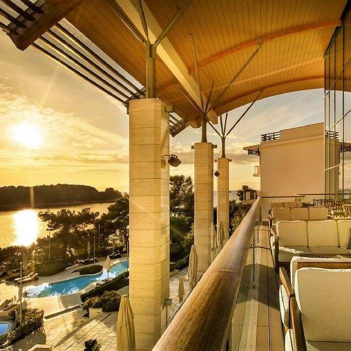Hotel Monte Mulini balcony