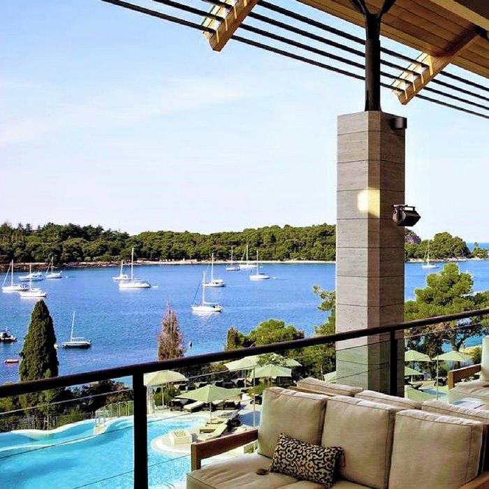 Hotel Monte Mulini sea view